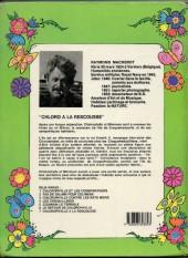 Verso de Chlorophylle (Série verte) -7- Chlorophylle à la rescousse