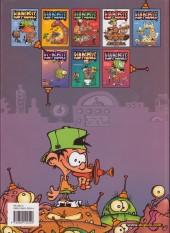 Verso de Kid Paddle -1a2003- Jeux de vilains