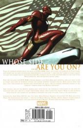 Verso de Invincible Iron Man (The) (2005) -INT03- Civil War: Iron Man