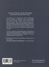 Verso de KZ Dora - Tome INT