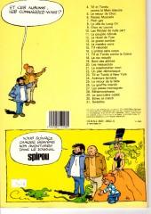 Verso de Tif et Tondu -26a1983- Le gouffre interdit