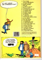 Verso de Tif et Tondu -7a1983- Plein gaz