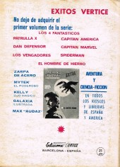 Verso de Vengadores (Vol.1) (Los) -8- El despótico comisario