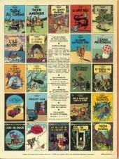 Verso de Tintin (Historique) -2C4- Tintin au Congo