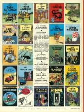 Verso de Tintin (Historique) -6C4- L'oreille cassée