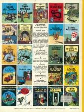 Verso de Tintin (Historique) -12C3bis- Le trésor de Rackham Le Rouge