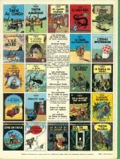 Verso de Tintin (Historique) -17C3bis- On a marché sur la lune