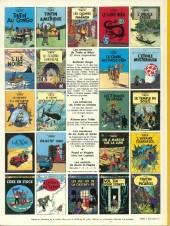 Verso de Tintin (Historique) -16C3bis- Objectif Lune