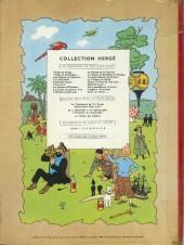 Verso de Tintin (Historique) -6B26- L'oreille cassée