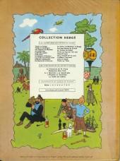 Verso de Tintin (Historique) -12B29- Le trésor de Rackham Le Rouge