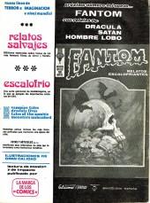 Verso de Fantom (Vol.2) -8- ¡El sendero del loco!