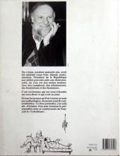 Verso de Monsieur Mitterrac