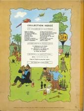 Verso de Tintin (Historique) -15B24- au pays de l'or noir