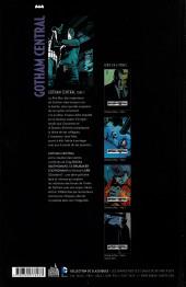 Verso de Gotham Central (Urban comics) -3- Tome 3