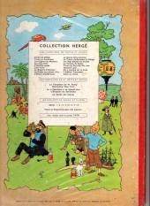 Verso de Tintin (Historique) -7B24- L'île noire