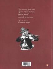 Verso de Le linceul du vieux monde -3- La révolte des canuts