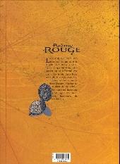 Verso de Poème Rouge -2- Eleonora