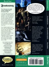 Verso de Frankenstein: The Graphic Novel (2008) - Frankenstein