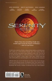 Verso de Serenity Better Days (2008) -INT02- Better days and other stories