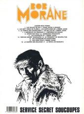 Verso de Bob Morane 3 (Lombard) -31a1986- Service secret soucoupes