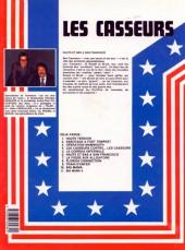 Verso de Les casseurs - Al & Brock -6a1985- Hauts et bas à San Francisco