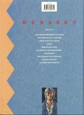 Verso de Durango -1c92- Les chiens meurent en hiver