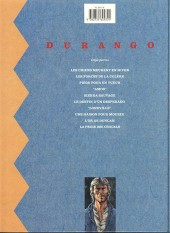 Verso de Durango -2b92- Les forces de la colère
