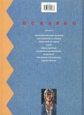 Verso de Durango -3c1991- Piège pour un tueur