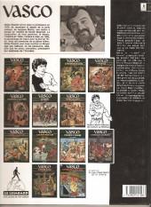 Verso de Vasco -1b1993- l'or et le fer