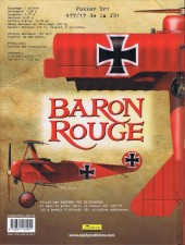 Verso de Baron Rouge (Puerta) -3- Donjons et Dragons