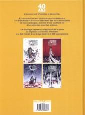 Verso de La légende des nuées écarlates - Tome INTb