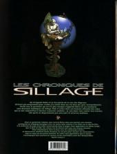 Verso de Sillage (Les chroniques de) -4a2008- Volume 4