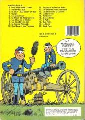 Verso de Les tuniques Bleues -19a83- Le David