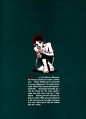 Verso de Bile noire -5- Février 1999