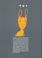 Verso de Bile noire -8- Mai 2000