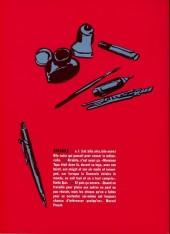 Verso de Bile noire -9- Automne 2000