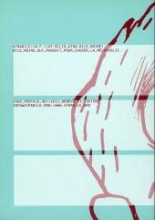 Verso de Bile noire -13- Printemps 2003