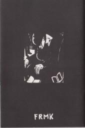 Verso de Black book black
