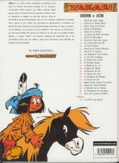 Verso de Yakari -1c2002- Yakari et Grand Aigle