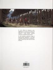 Verso de La malbête -1- Monsieur Antoine en Gévaudan