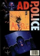 Verso de AD. Police