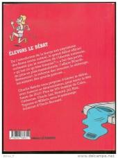 Verso de Charlie Hebdo - Une année de dessins -2010- Élevons le débat - L'Année 2010 en dessins