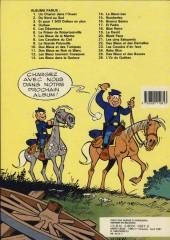 Verso de Les tuniques Bleues -22a1987- Des bleus et des dentelles