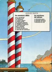 Verso de Lefranc -2b1977- L'ouragan de feu