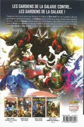 Verso de Les gardiens de la Galaxie (Marvel Deluxe) -2- War of Kings