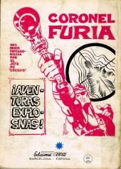 Verso de Selecciones Marvel -5- Narraciones fantasticas