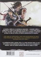 Verso de Blood & Steel -1- Tome 1