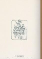 Verso de (Catalogues) Ventes aux enchères - Christie's - Christie's - Tintin - 14 mars 2015 - Paris