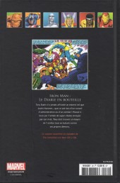 Verso de Marvel Comics - La collection (Hachette) -302- Iron Man - Le Diable en Bouteille