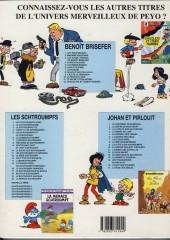 Verso de Benoît Brisefer -7c2002- Le fétiche